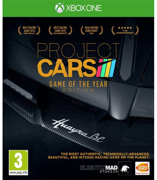 Buy Project Cars Game Of The Year Edition Xbox One Pre Owned