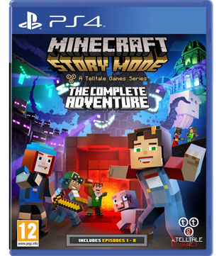 Buy Minecraft Story Mode The Complete Adventure PS4 (Pre-owned) - GameLoot