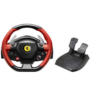 Xbox-One-Thrustmaster-Racing-Wheel-for-Xbox-One-VG-Ferrari-458-Spider-Edition-(Red-&-Black)