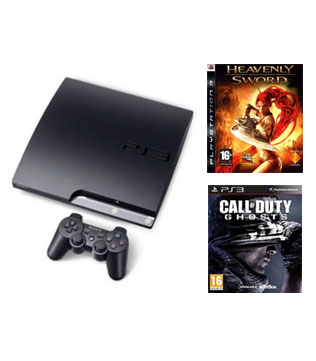 Sony-PlayStation-3-Slim-Value-Bundle-with-Call-of-Duty-Ghosts-&-Heavenly-Sword