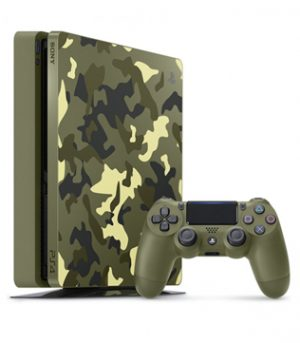 PS4-Sony PlayStation 4 Slim 1TB Call of Duty WWII Limited Edition (Pre-owned)