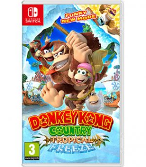 Nintendo Switch-Donkey Kong Country Tropical Freeze (without Original Box & Cover)-Pre-owned