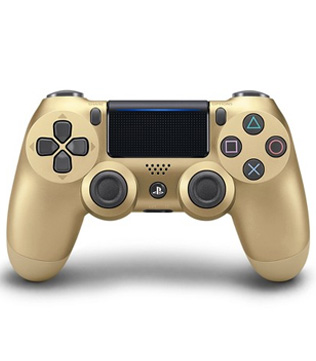 PS4-Official-Sony-Dualshock-4-V2-Wireless-Controller-Gold-Pre-owned