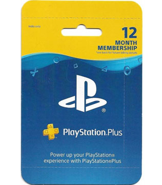 PS4, PS3, PS Vita-Sony PlayStation Plus 12 Months Membership (Indian PSN account)