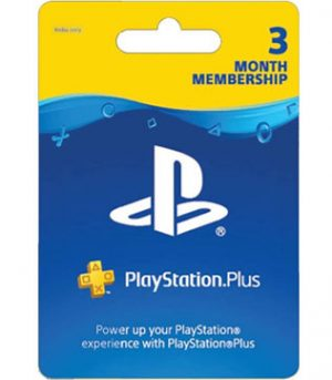 PS4, PS3, PS Vita-Sony PlayStation Plus 3 Month Membership (Indian PSN account)