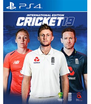 Cricket 19 International Edition PS4