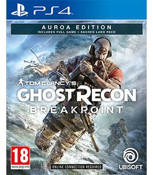Tom Clancys Ghost Recon Breakpoint Auroa Edition PS4
