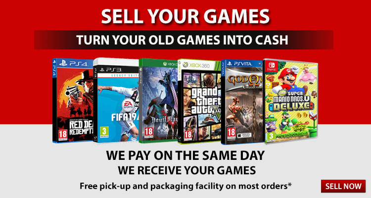 Buy or Sell Games and Gaming Consoles Online in India - GameLoot