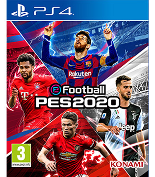 Pro Evolution Soccer 2020 PS4 (Pre-owned)
