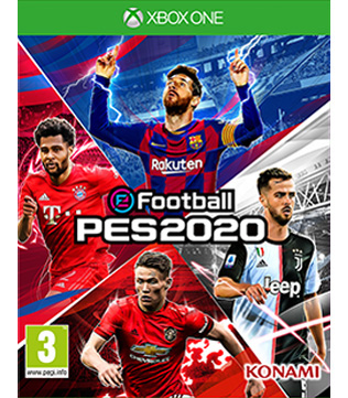 Pro Evolution Soccer 2020 Xbox One (Pre-owned)