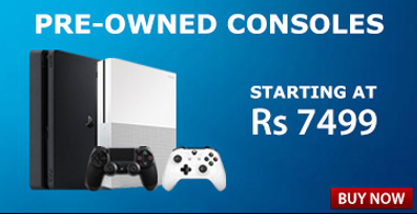 Pre-owned Console Banner Top Right