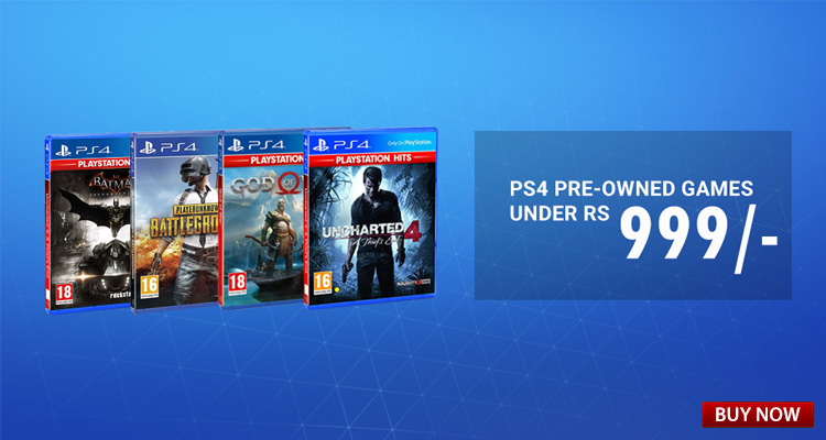 PS4 PRE-OWNED GAMES UNDER 999